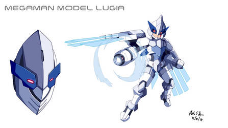 Megaman Model Lugia by innovator123