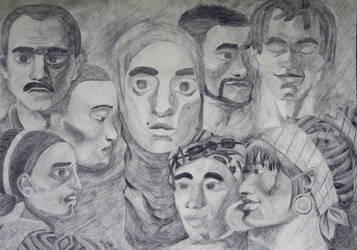 Face in a Crowd by alexiane250