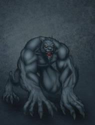 Da Beast - Wacom test 3 by drucpec