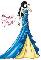 FAIRY TALE GIRLS PROJECT: Snow White by WeleScarlett