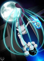 Mewtwo : Only By Moonlight by LunaticDuplicate