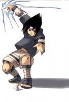 +NARUTO: Sasuke's Chidori+ by DenjinSnake