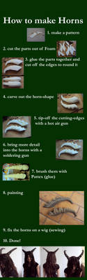 How to make Horns by Ermelyn