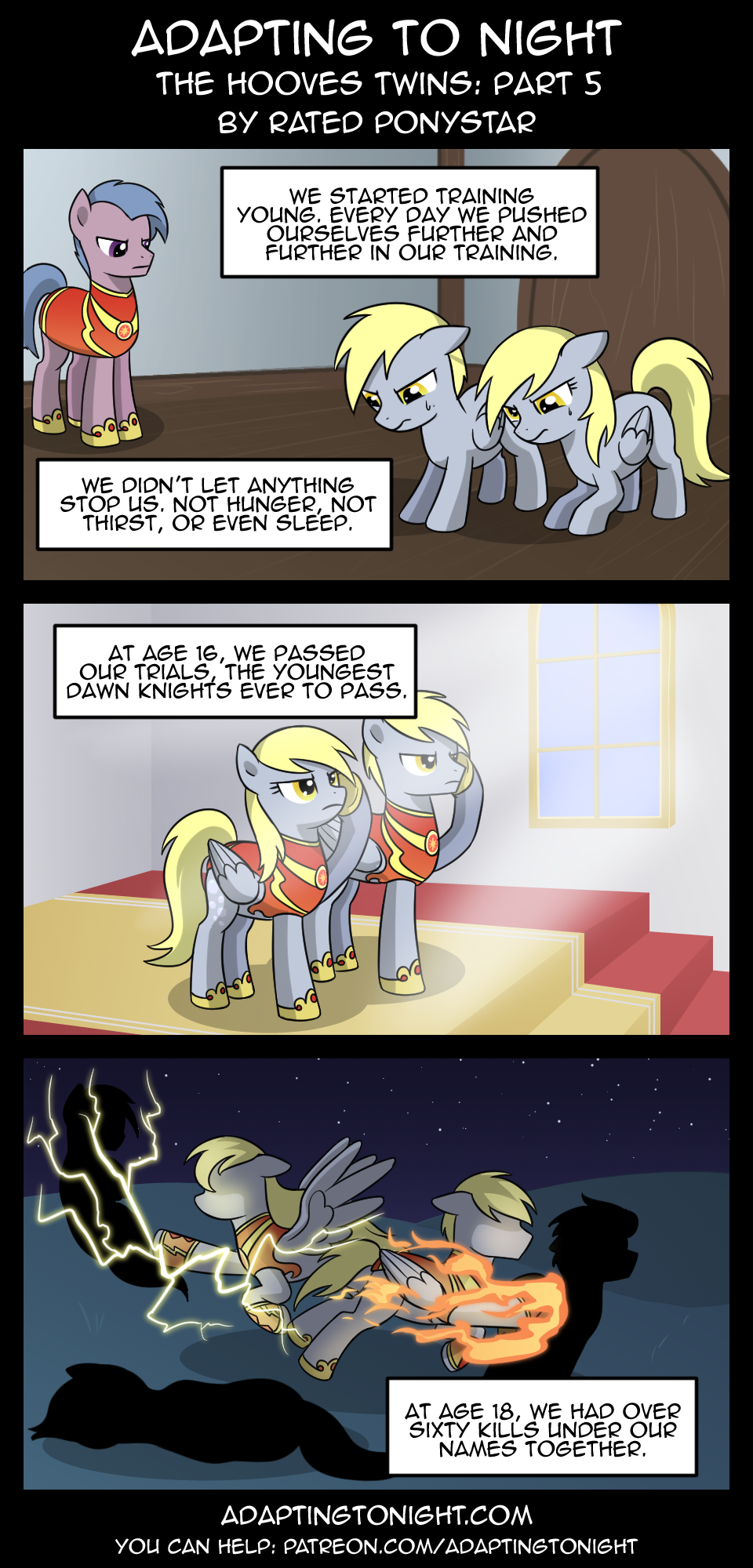 AtN: The Hooves Twins -  Part 5 by Rated-R-PonyStar