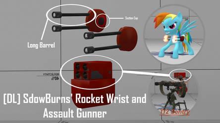 [DL] SdowBurns' Rocket Wrist and Assault Gunner by SdowBurns
