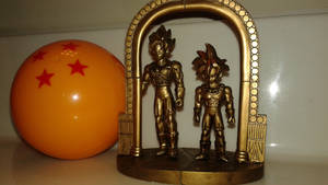 Japan-imported DBZ Figurines by DemonDamon97