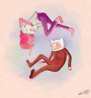 Pajama Wars! [Adventure Time fanart] by SteamyTomato