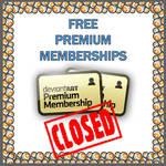 *CLOSED* Giving away FREE Premium Memberships by Kiwikku