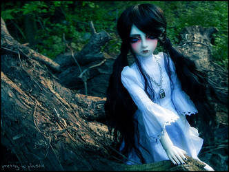 alone in the woods 01 by prettyinplastic