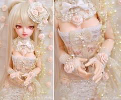 Cream Rose ::01:: by prettyinplastic