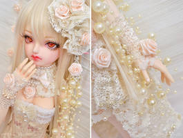 Cream Rose ::03:: by prettyinplastic