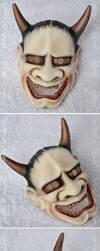 Commission - Dollzone Noh mask by prettyinplastic