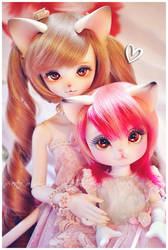 Hana + Yume by prettyinplastic