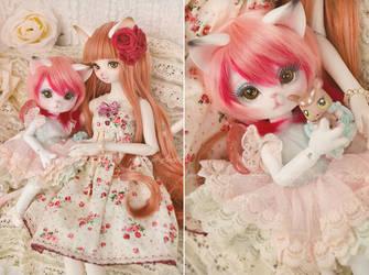 sweet cat sisters by prettyinplastic