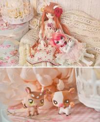 sweet cat sisters 02 by prettyinplastic