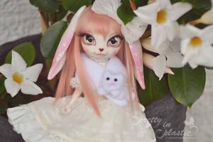 little miss bunny girl by prettyinplastic