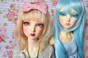 Maskcatdoll Xilv comparison by prettyinplastic