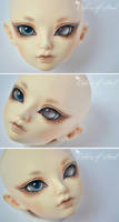 Face-Up Commission - Luts Maska (for Shiroi) by prettyinplastic