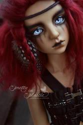 demon girl by prettyinplastic