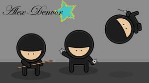 Vector Ninja Gang by Alex-Denvor