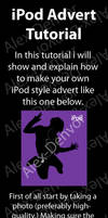 iPod Advert Photoshop Tutorial by Alex-Denvor