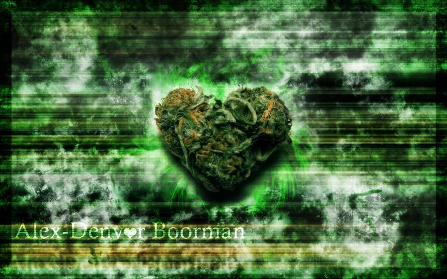 Trippy Weed Wallpaper by Alex-Denvor
