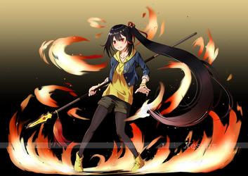 Crimson Ablaze V1 by Xesxus