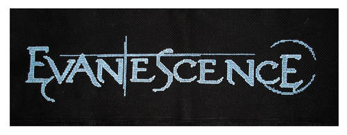 Evanescence Cross Stitch by CarolBarajas