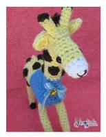 Tumai The Giraffe Amigurumi by CarolBarajas