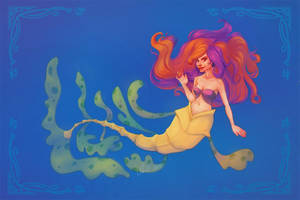 Leafy Sea Mermaid by relsgrotto