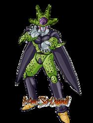 Perfect Cell (I-Am-So-Original) by bringerofdeathDBZ