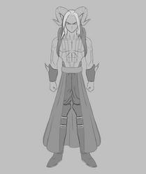 Majcnavn, the dragonspawn (VerticalSpyder) by bringerofdeathDBZ