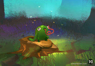 Frog by SimonBoxer