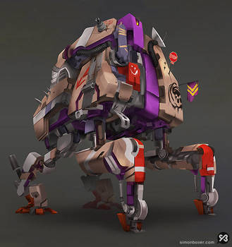Mech - The Nomad by SimonBoxer