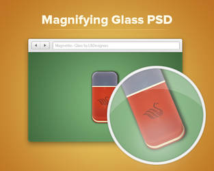 Magnifying Glass PSD by AuroraDesign