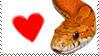 Corn Snake Love by CVDart1990