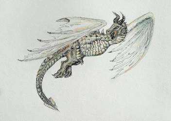 Skyrim: Paarthurnax by GreyCorbie