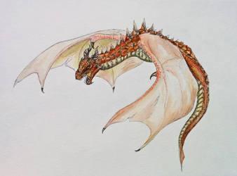 Fire Dragon by GreyCorbie