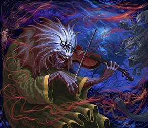 The Fiddler by Xeeming