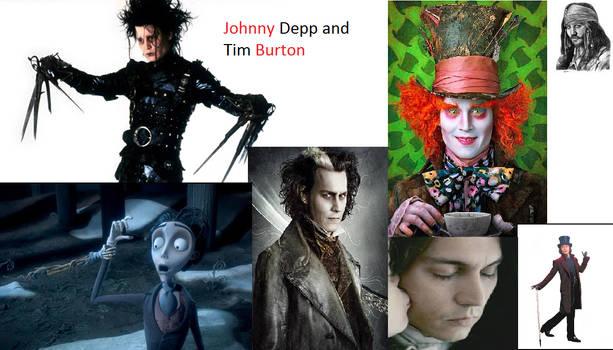 Johnny Depp Collage By Funsub On Deviantart