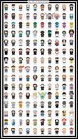 Our 150 Cartoon Friends by DNGRLIAM