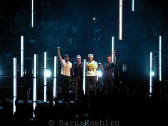 U2 live - Berlin 25.09.2015 by Saru-Koshiro