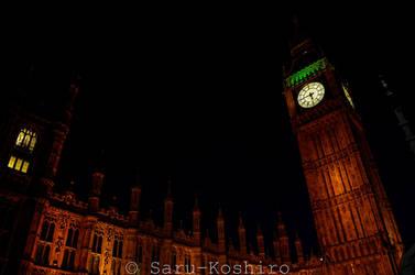 House Of Parliament in the dark by Saru-Koshiro