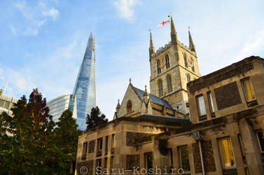 Old And New Combined - London by Saru-Koshiro