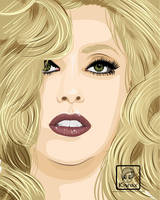 Lady Gaga by KYMYAX