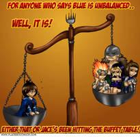 Blue is Unbalanced, You Say? by TobiasVyseri