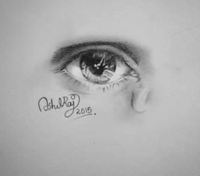 Eye Drawing  by ashilraj