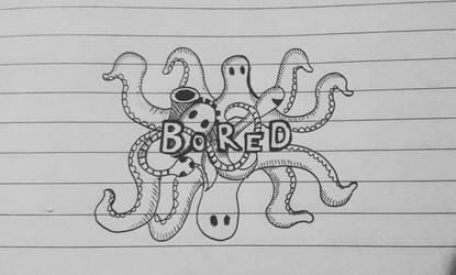 Bored doodle art by ashilraj