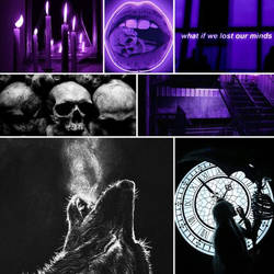 Chains of Fear Moodboard - Original Character by Queen-of-Ice101