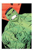 HULK SMASH color by drawhard